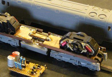 """Stavba modelu T678 016 """"Pomaranč"""" z odliatku"""