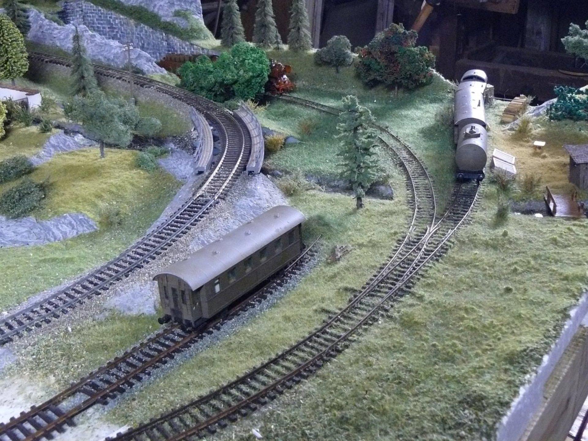 Opustená trať pod Hradným kopcom