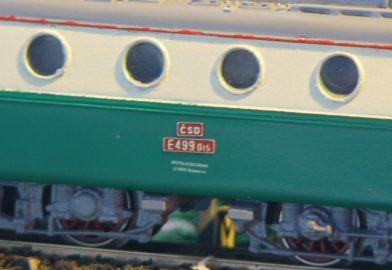 """Stavba elektrickej lokomotívy E499.015 """"Bobina"""" ČSD z odliatku"""