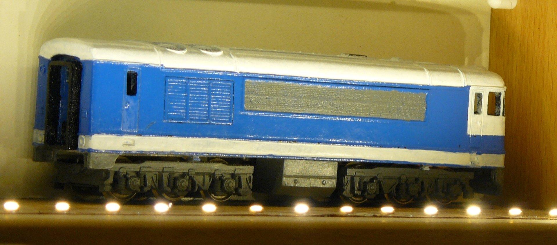 T698.002 ČSD z odliatku – pre menej náročných modelárov