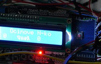 Elektronika a ovládanie Ocinovho N-ka