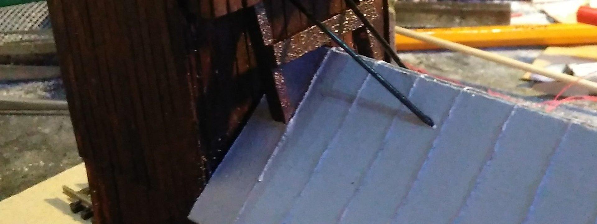 Šachta Mária v mierke H0 – budova do budúceho areálu bane post thumbnail image