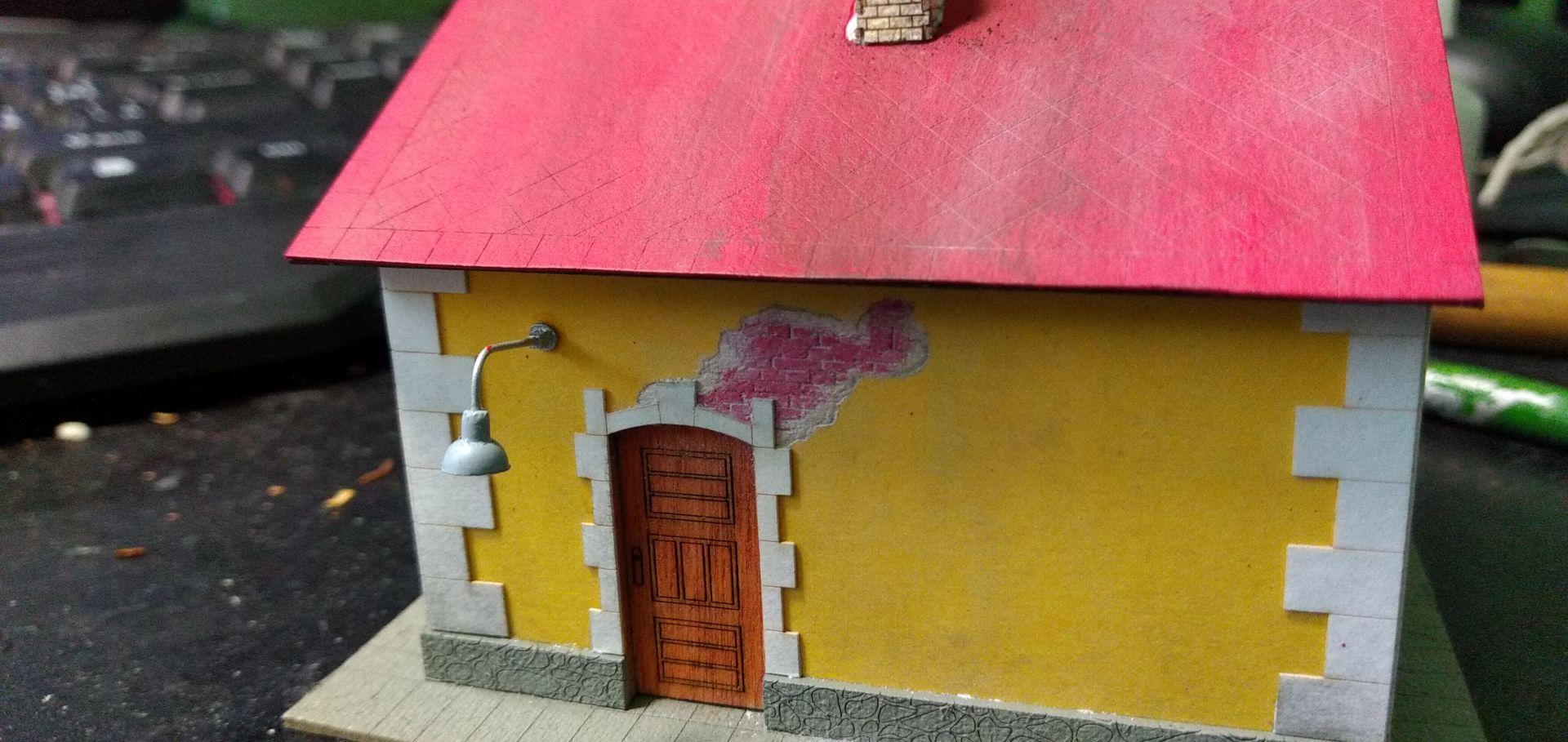 Strážny domček od firmy Igra, mierka H0 post thumbnail image
