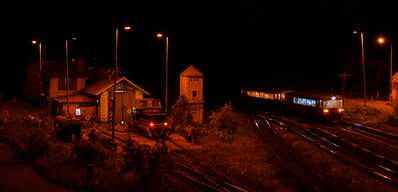Večer v Skaline na stanici